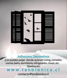 Stickers para tus paredes muebles ventanas lo nuevo en - Lo ultimo en decoracion de paredes ...