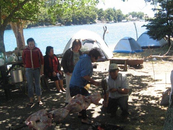 hospedaje camping: