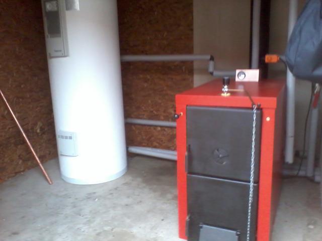 Calderas a le a calefaccion central en temuco for Calderas para calefaccion central a lena
