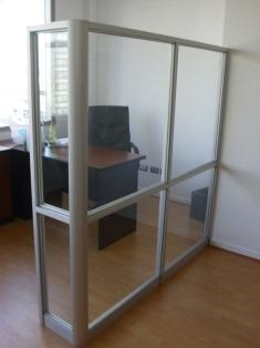 Separadores de ambientes para oficinas mamparas de cristal en las oficinas de microsoft - Separadores de oficina ...