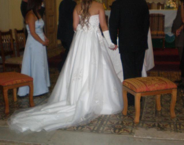 Vestidos de novia usados curico