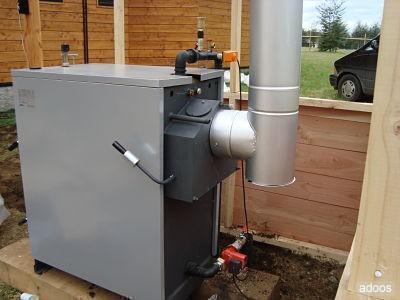 Im genes de calefaccion central a le a calderas a le a en - Calefaccion lena radiadores ...